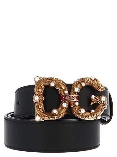 Luxury Fashion | Dolce E Gabbana Donna BE1335AK13380999 Nero Cintura | Primavera Estate 19
