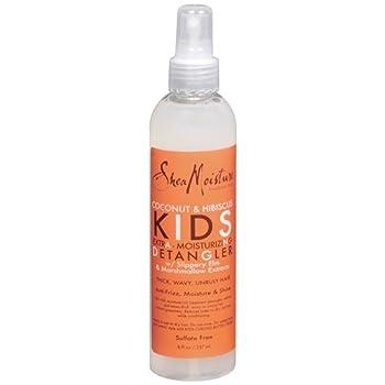 Shea Moisture Kids Extra-Moisturizer Detangler - Coconut & Hibiscus 8 oz  Pack of 3