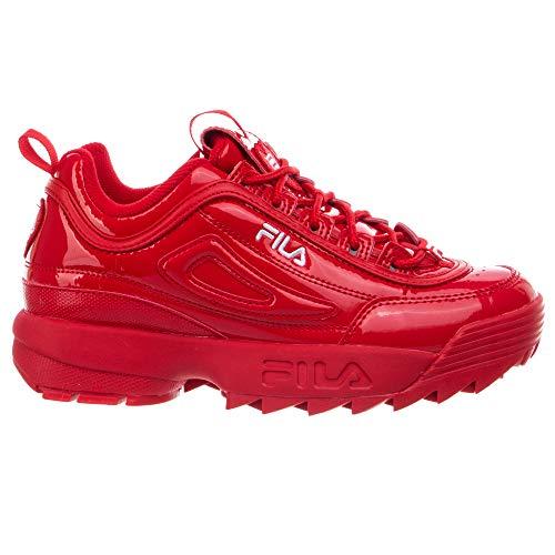 Fila Women's Disruptor II Heart Premium Sneaker (Red, Numeric_6)