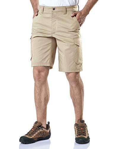 CQR Mens Hiking Tactical Shorts, Quick Dry Fishing Shorts, Lightweight Outdoor Rip-Stop EDC Assault Cargo Short