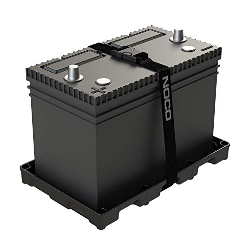 NOCO BT27S Group 27 Heavy-Duty Battery Tray For Marine, RV, Camper And Trailer Batteries
