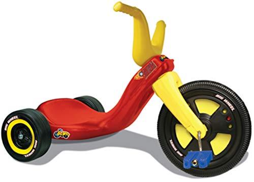 The Original Junior 11 Big Wheel Trike Original Big Wheel Tricycle for Kids 3-8 Boys Girls - Indoor/Outdoor Toys Made in USA