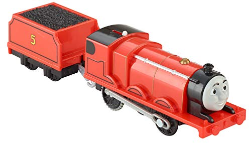 Thomas & Friends - Locomotora motorizada, Personaje Principal James (Mattel BML08)