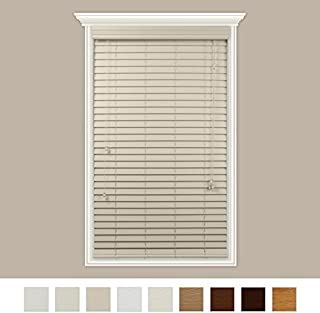 smooth faux wood blinds