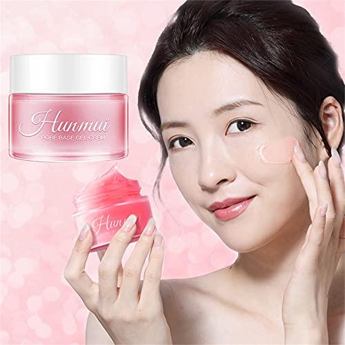 Pore Base Gel Cream Invisible Pores Face Primer Makeup Base de maquillage mate 30 ml, Hydratant pour le visage anti-âge, Lisse instantanément les rides, Cache les pores (1pc)
