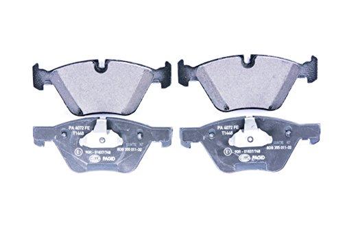HELLA PAGID 8DB 355 011-321 Kit pastiglie freno, Freno a disco, Assale anteriore