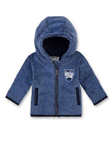 Sanetta Baby-Jungen 114100 Jacke, Blau (Bright Cobalt 50249), 74