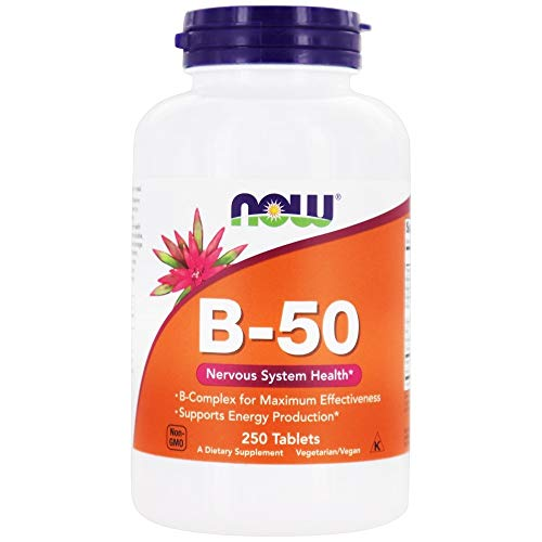 B-50, 250 Tablets - Now Foods - Qty 1