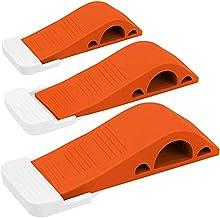 Wundermax Deurstop Rubber Deur Stop Wedge Security Deur Stops met Deurhouder Rubber Deur Stoppers Werkt Op Alle Floor Type...