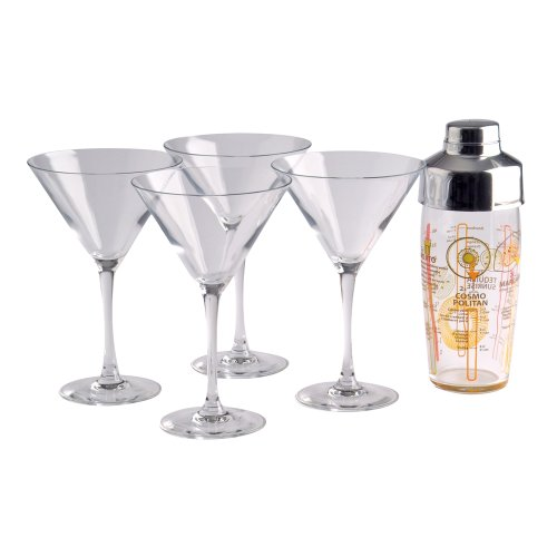 Luminarc Set da Cocktail Martini, 5PZ.