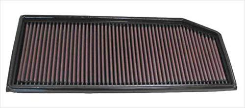 K&N 33-2158 Filtre à Air du Moteur: Haute Performance, Premium, Lavable, Filtre de Remplacement, Plus de Pouvoir, 1999-2006 (C200, C220, C270, E200, E220 E270, E320, G270, ML270, S320)