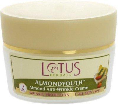 Lotus Herbals almendra–crema antiarrugas (50G)