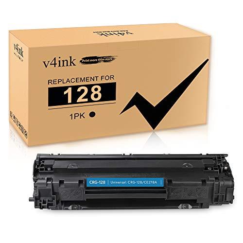 V4INK 1 Pack Compatible Toner Cartridge Replacement for Canon 128 CRG128 HP 78A CE278A for use in Canon D530 D550 L100 L190 LBP6230dw MF4890dw MF4880dw MF4770N MF4450 MF4570dn HP P1606dn P1600 M1536dn