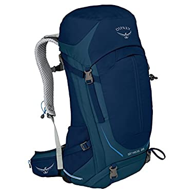 Osprey Packs Stratos 36 Backpack, Eclipse Blue, S/M, Small/Medium