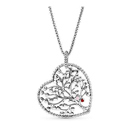 Pandora Tree of Love Necklace - Mixed Enamel