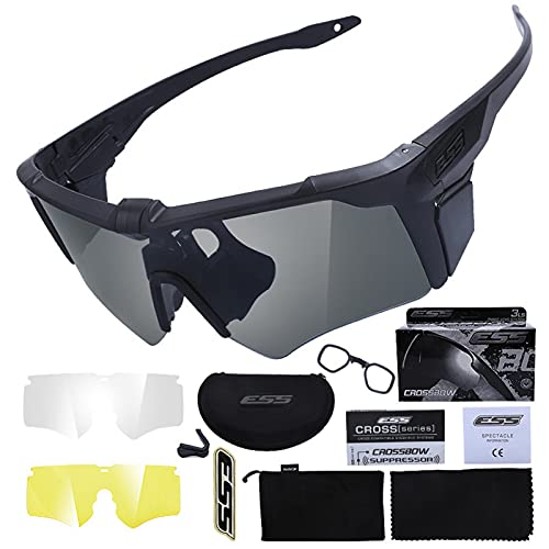 Tramile Military fans outdoor sports goggles cross tactical glasses, shooting bulletproof goggles, sunglasses men's tactical goggles, outdoor goggles,black