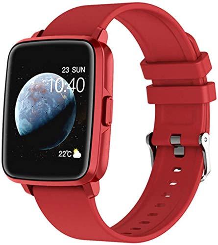 hwbq Nuevos hombres s deportes smartwatch mensaje recordatorio de llamada fitness sueño Tracker mujeres GPS Motion Track I68 smartwatch para android-e
