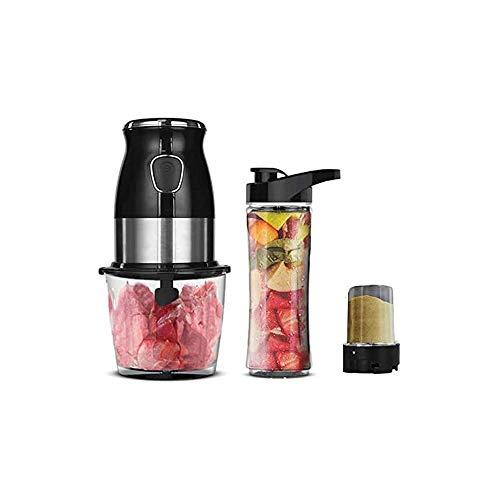 LKNJLL Hachoir, électrique Mini Hachoir à Viande avec Sharp Lames et 2 Coupe Capacité Processeur de légumes for Les Fruits à l'oignon et de Fruits (2000ml 4blades)