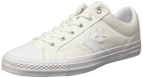 Converse 157760C- Tenis para Hombre, Blanco, 28 M MX