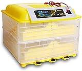 ZT Control de Temperatura de la incubadora de Huevo Transparente Digital y Doble Potencia multifunción Turner automático para incubar de Pollo Pato Ganso codornices pájaros Pavo Pavo Ganado
