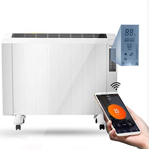 FFZZ Termoventilador Silencioso 1500 W Termostato Ajustable Función Ventilación 3 Segundos De Calor Rápido para Expulsar El Viento IPX 4 A Prueba De Agua Protección contra Sobrecalentamiento