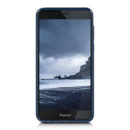 kwmobile Huawei Honor 8 / Honor 8 Premium Hülle - Handyhülle für Huawei Honor 8 / Honor 8 Premium - Handy Case in Dunkelblau - 2