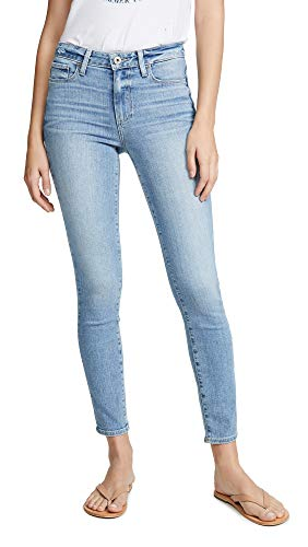 PAIGE Women's Hoxton Ankle Skinny Jeans, Soto, Blue, 29