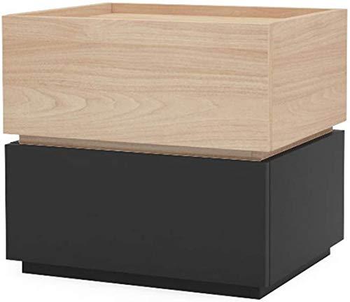 Nachttisch / Nachttisch, Bodenschrank, Holz Beistelltisch mit Schubladen, Beistelltisch (Farbe: F)
