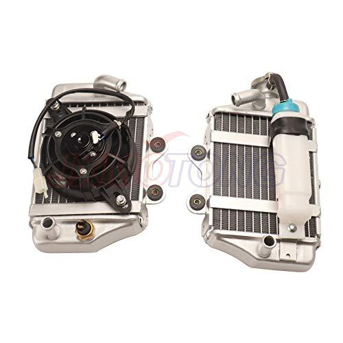 150cc 200cc 250cc zongshen loncin lifan motorfiets watergekoelde motor radiator xmotos apollo waterbak met ventilator accessoires