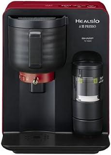 シャープ ヘルシオ(HEALSIO) お茶プレッソ 湯ざまし機能付き レッド TE-TS56V-R