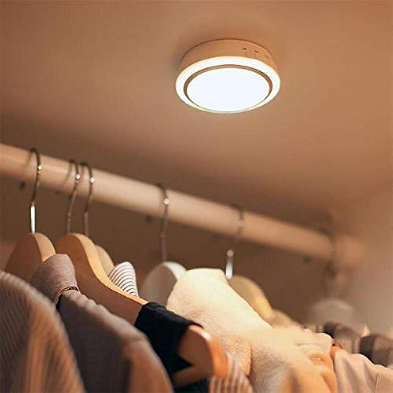 Nachtlicht des LED Schranks Induktionslicht Flurlampe Lithiumbatterie Ladung USB Lampe Kopflampe Küchenleuchte Luz Weißa plateada 0,5 W