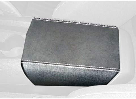RedlineGoods Armlehnebedeckung kompatibel mit Camaro 2010-15 Alcantara Schwarz Stich Blau