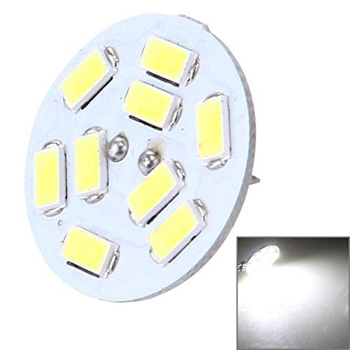 ILS G4 4W wit 200LM 9 LED SMD 5730 decoratieve ronde verlichting voor binnen / buiten decoratie, DC 12V achterlicht