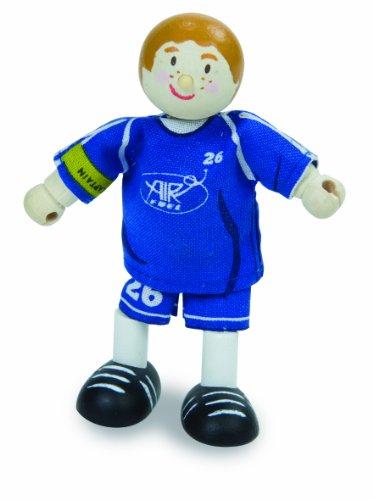Le Toy Van - 21984 - Figurine - Footballeur 2 - N°26 - Bleu