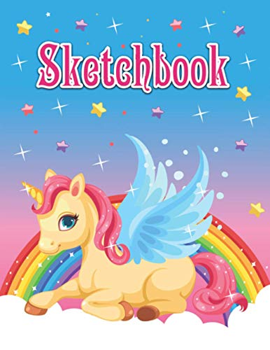 Compare Textbook Prices for Sketchbook: Perfect Gift For Unicorn Sketchbook Lover Kids Elementary School Supplies Student Teacher Art Painting Writing Drawing Crayon Coloring Sketching Doodling watercoloring Learning  ISBN 9798565792805 by Press, Pretty Paperfly