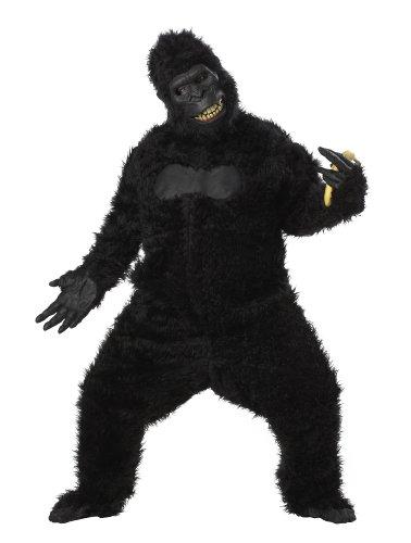 Adult Goin Ape Gorilla Costume Standard Black