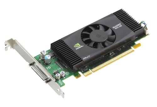 PNY NVIDIA Quadro NVS 420 Grafikkarte (PCI-e, 512MB, GDDR3 Speicher, DVI)