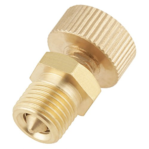 1pcs Air Bleed Valve,Brass Air Bleed Valve Screw For High Pressure Electric Pump Accessories