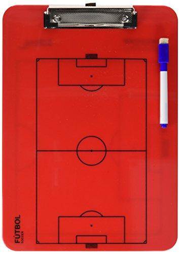 Softee Equipment 0004624, Carpeta de Tácticas, Rojo, S