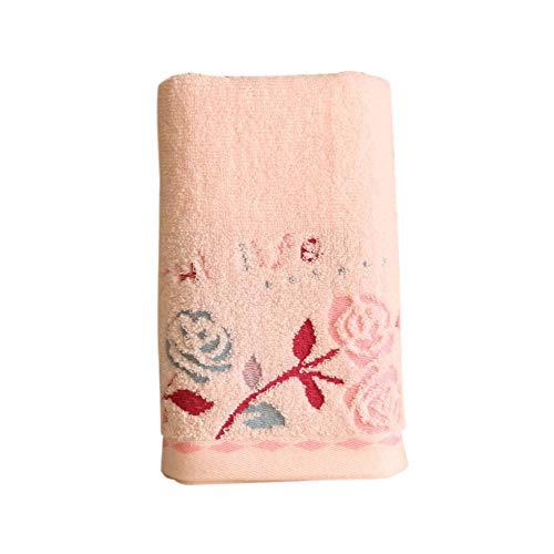 dfsgrfvf handdoek badkamer levert gezicht handdoek katoen rozen bedrukte handdoeken snel absorberend gecomprimeerde handdoek