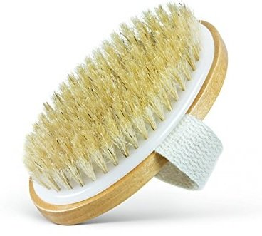 Dry Body Brush Cellulite Circulation