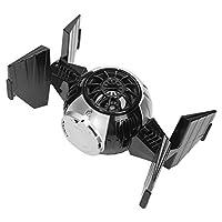 携帯電話用コンピューター用サブウーファースピーカー宇宙カプセルスタイルワイヤレスワイヤレススピーカーオーディオTWS(Black+silver)