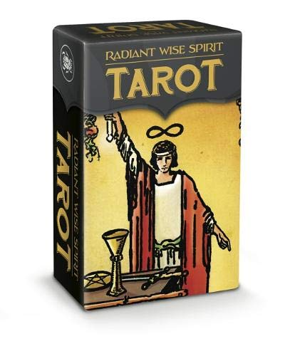 Radiant Wise Spirit Tarot - Mini Tarot - Waite, A. E., Smith, Pamela Colman