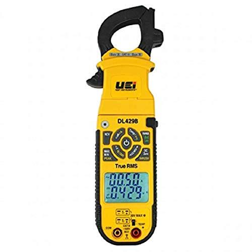 UEi Test Instruments DL429B True RMS Advanced HVAC Clamp Meter , Yellow