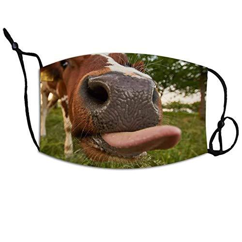N / A Verstellbare, waschbare und Wiederverwendbare Masken, niedliche staubdichte Tiermasken, Weihnachtsmasken