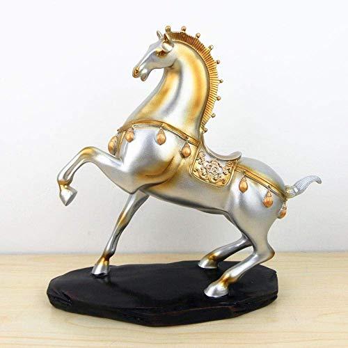 YAeele Arte Decoraciones artesanía Caballo decoración del hogar Sala de Estar TV Oficina del gabinete Estudio Porche de Escritorio 1