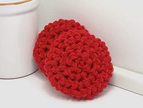 crochet pot scrubbers - 4