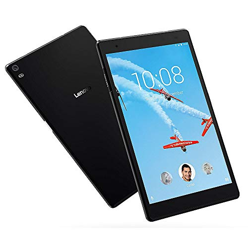 Lenovo ZA2B0009US Tab 4, 8 Inch Android Tablet with Quad-Core Processor, 1.4GHz, 16GB Storage, Slate Black (Non-Retail Packaging)