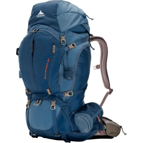 Gregory Mountain Products Baltoro 65 Backpack, Prussian Blue, Small