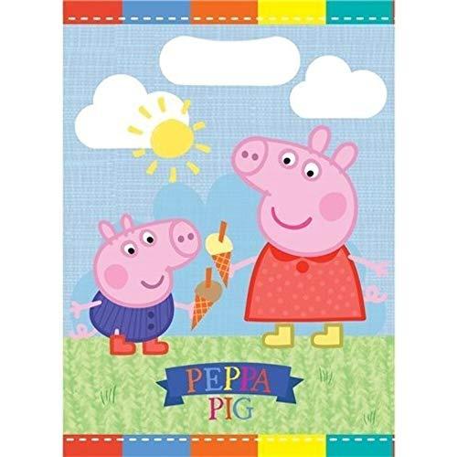 Generique - 8 Sacs de fête Peppa Pig